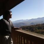 Taking in the Great Smokies, Gatlinburg Mountain top Resort
