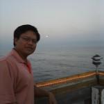 Enjoying the sunset at Edisto Beach, Edisto Island, SC