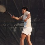 Placing a forehand shot