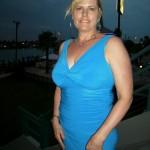 My wife Lorri at Treasure Island, FL