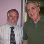 Danny R. Faulkner and my friend Ed Budd at the conference in Greenville, SC.
