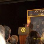 Pres. Bush speaking at the Gaylord Opryland Convention Center, Nashville, Tenn.