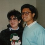 With Anne, deceased Christian friend