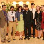 Stopping before the big banquet for a quick photo memory at the Baptist Press Journalism Conference in Nashville (TN)