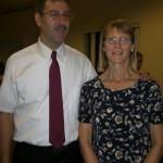BMW Senior accountant, Bob Corneroli and wife Rebecca at a school graduation event in Greer, SC.