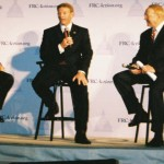 Allan Sears of Alliance Defense Fund, Tony Perkins, president of Family Research Council, and James Dobson, founder of Focus on the Family Action