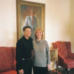 Audrey, a friend and co-worker at Regent University, President's office